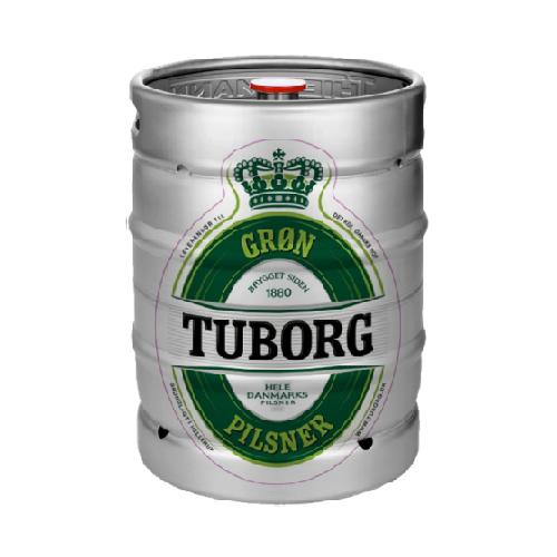 Grøn Tuborg Fadøl